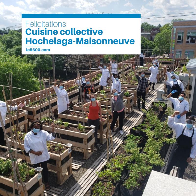 Cuisine collective Hochelaga-Maisonneuve en nomination au gala ESTim 2020